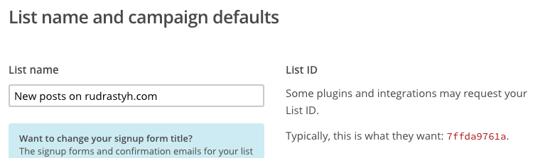Go to Lists > Settings > List name and defaults to obtain a list ID. Do not use list ID from the screenshot - it is fake.