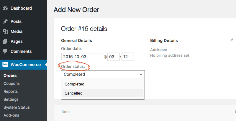 How to remove core order statuses in WooCommerce