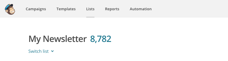What if your MailChimp list consists of thouthands members.