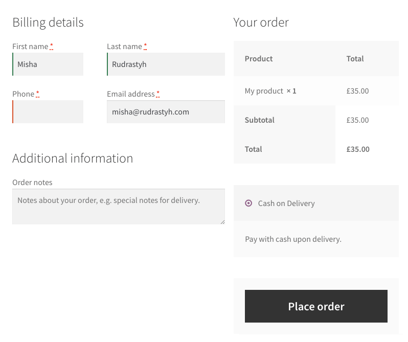 You can easily remove unnecessary checkout fields in WooCommerce.