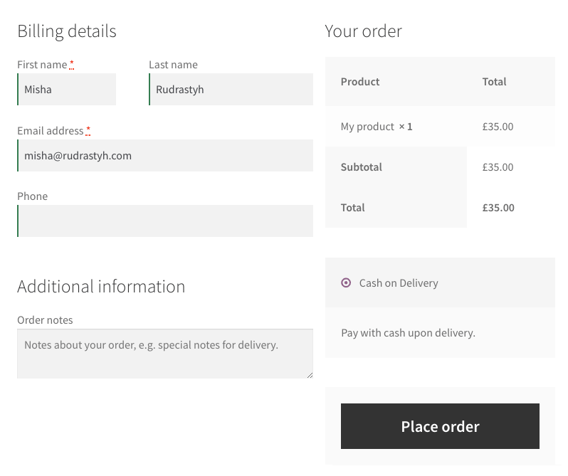 You can make the WooCommerce checkout fields to be floated left or right, or make them fullwidth.