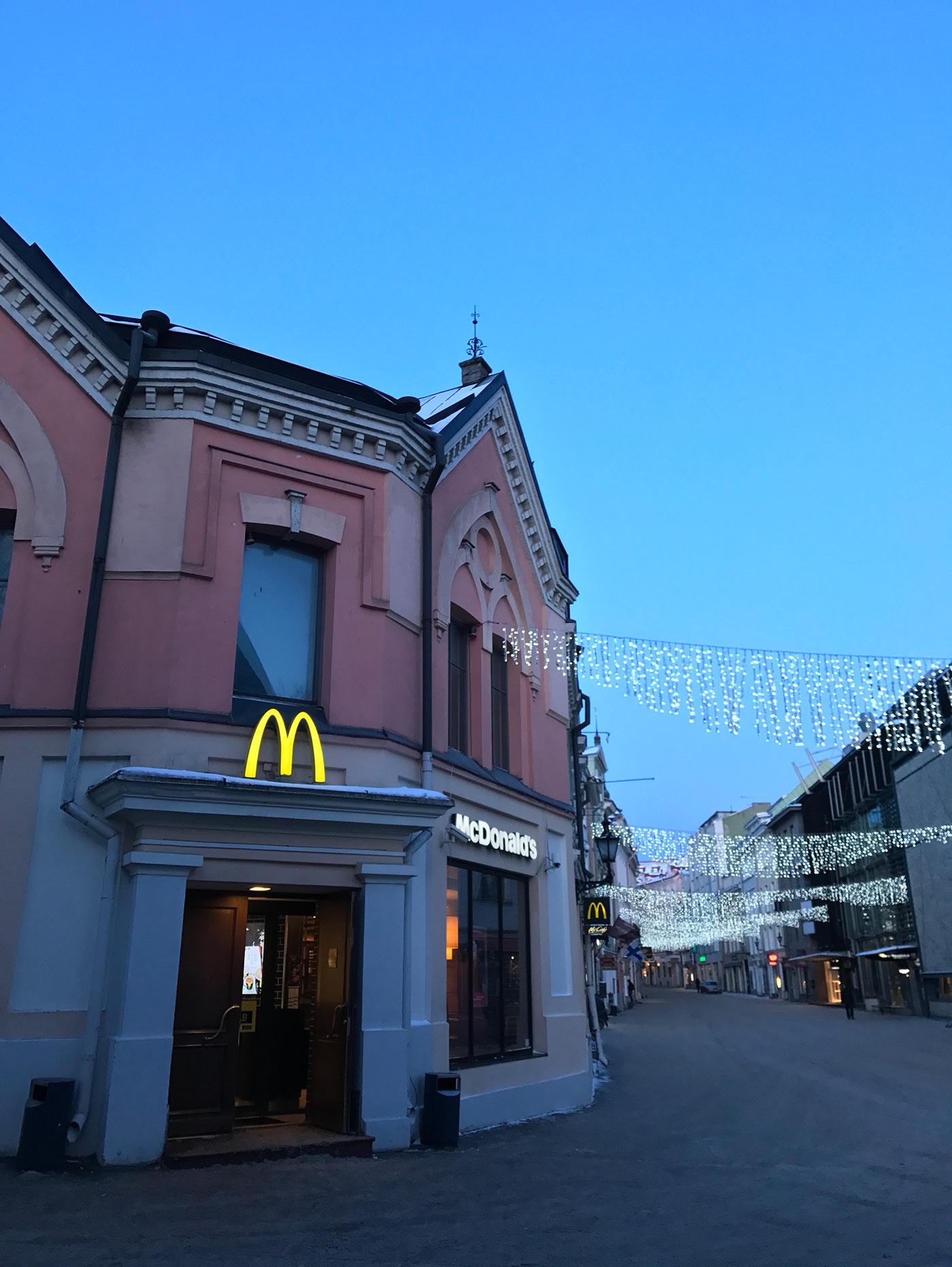 Mcdonalds Viru Gates in Tallinn