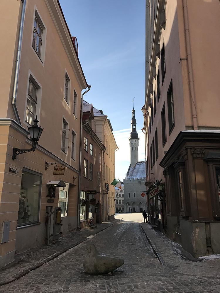 Tallinn Streets of Old Town