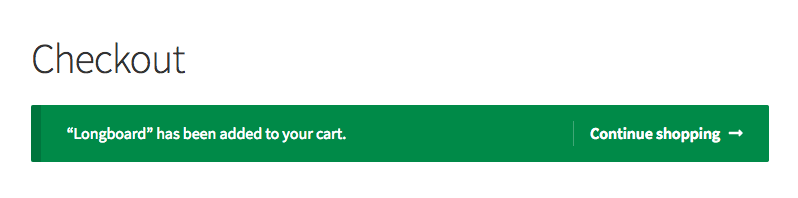 WooCommerce how to remove added to your cart message.