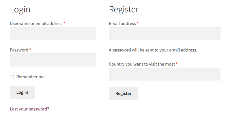 Add a custom field into a WooCommerce register form