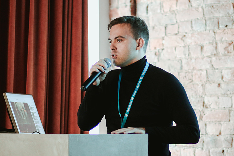Anton from Misha Rudrastyh team with his talk about WooCommerce payment gateways