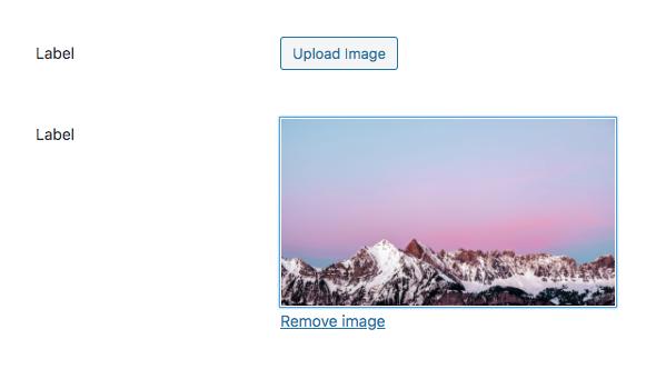simple image field in WordPress meta boxes