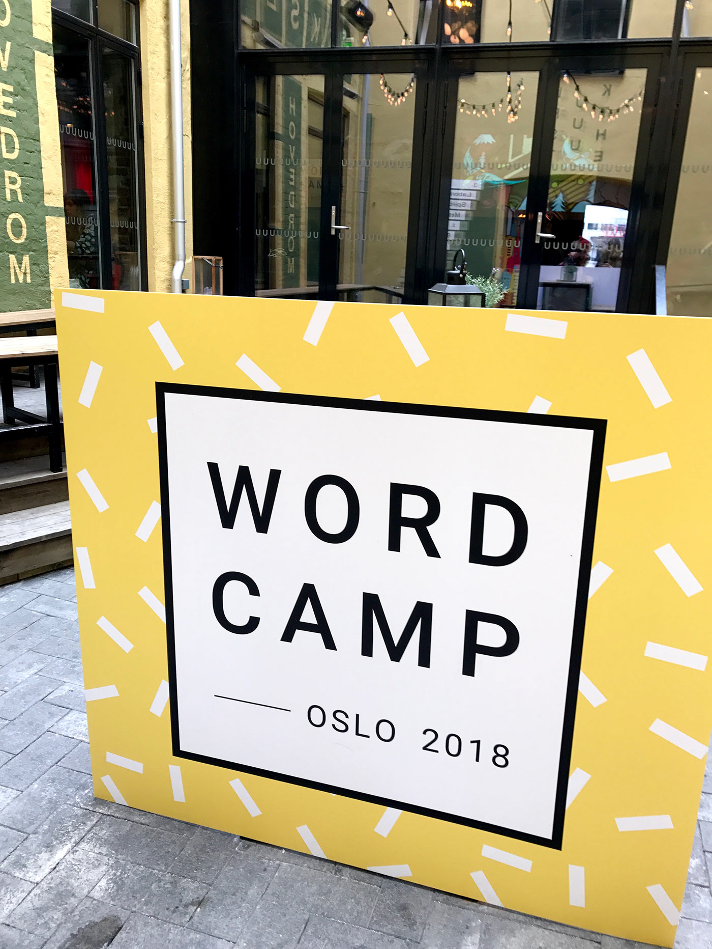 WordCamp Oslo logo