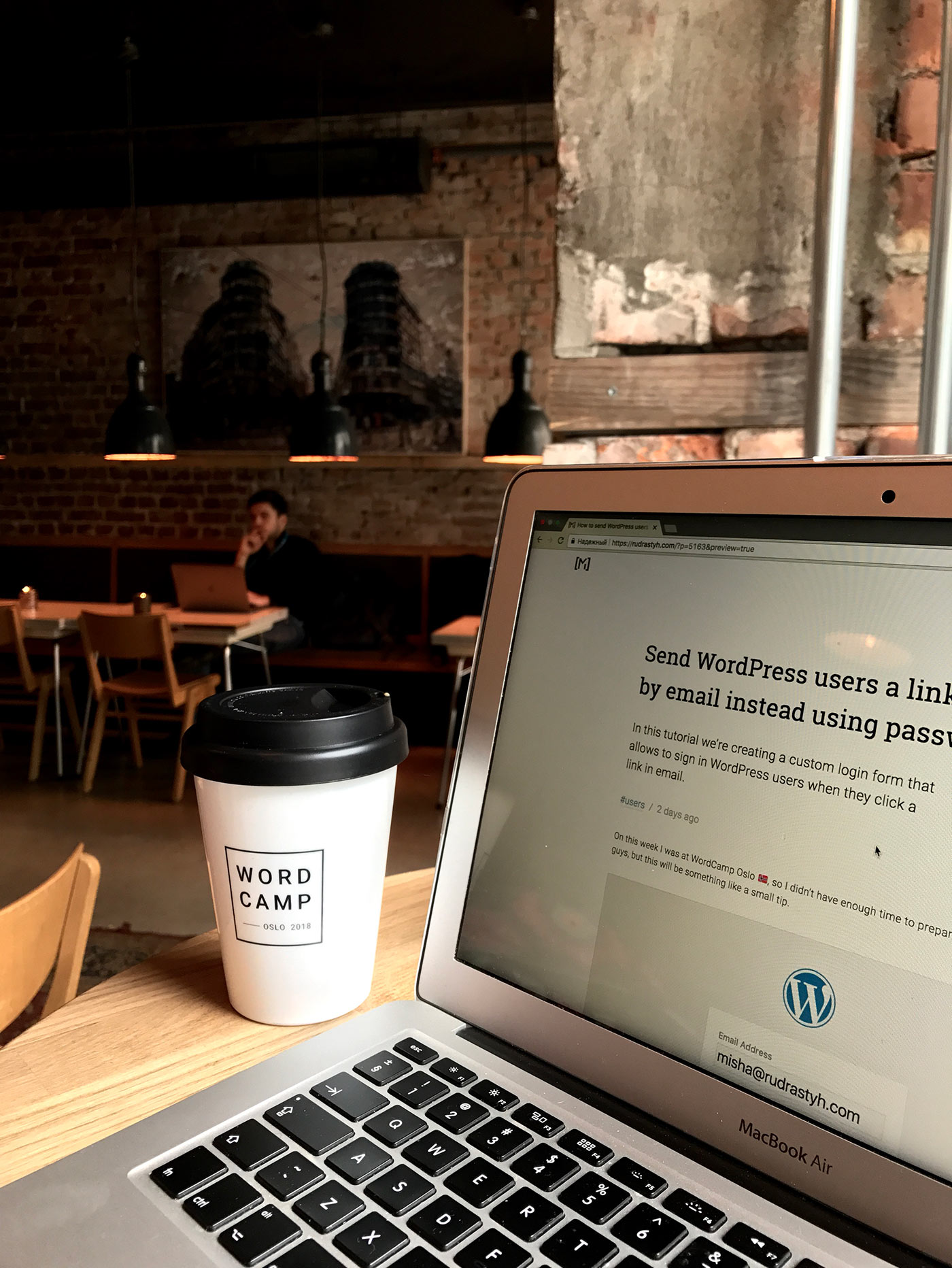 Publishing my new tutorials while on WordCamp Oslo
