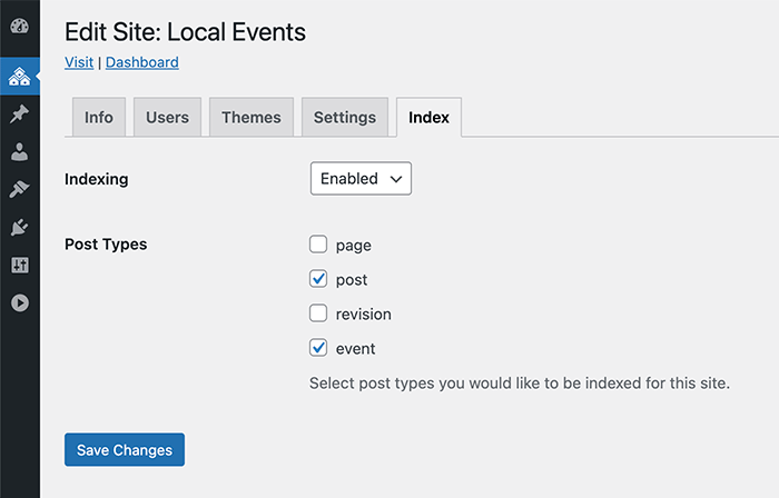 post types and global search customization